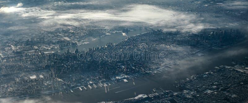 Manhattan blanche photo libre de droits