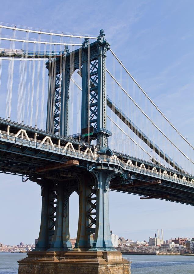 Manhattan-Brücke stockfoto
