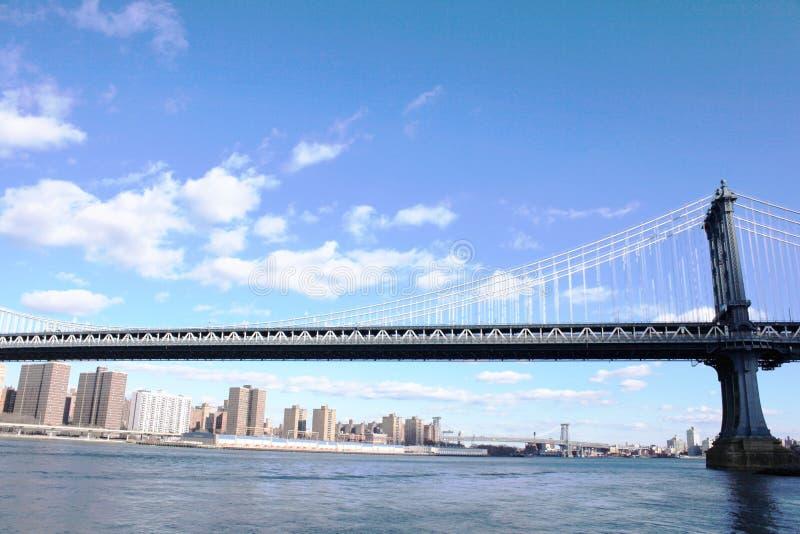 Manhattan bridge royalty free stock images