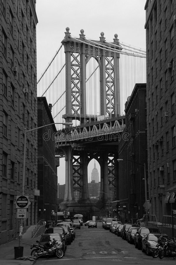 Manhattan Bridge royalty free stock image
