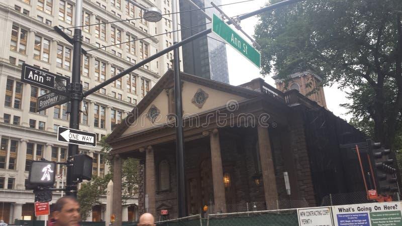 Manhattan Broadway royalty free stock photos