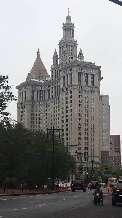 Manhattan Broadway building royalty free stock photos