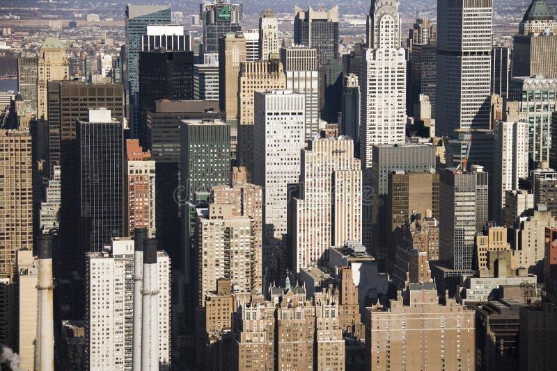 Manhattan Buildings, New York. Royalty Free Stock Image