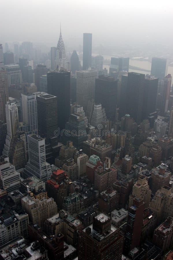 Manhattan céntrica fotografía de archivo libre de regalías