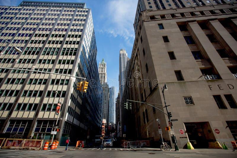Manhattan céntrica imagenes de archivo