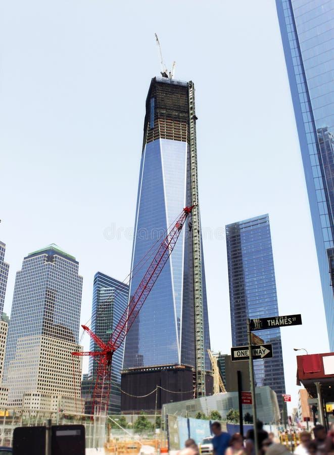 Manhattan Da Baixa Foto de Stock Royalty Free