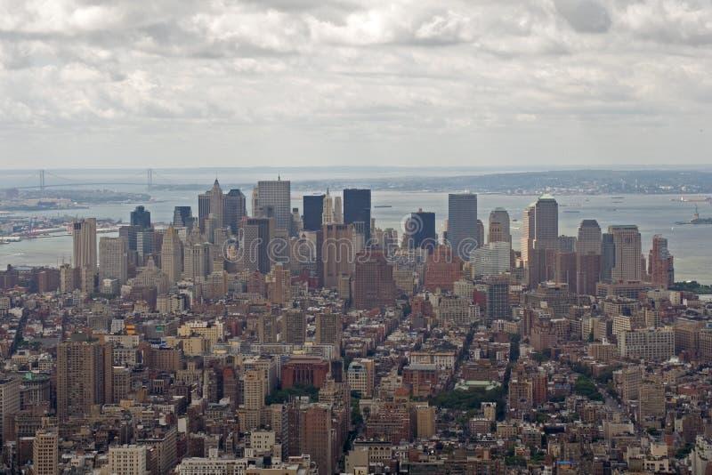 Manhattan da baixa foto de stock