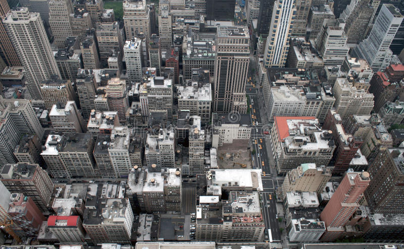 Manhattan de l'Empire State Building images stock