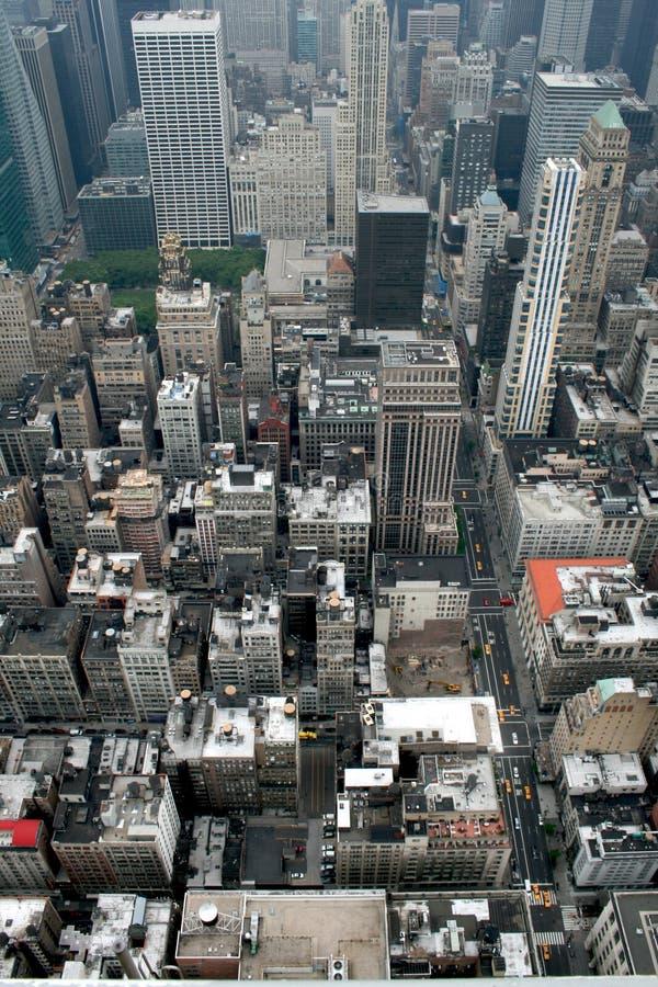 Manhattan de l'Empire State Building photos stock