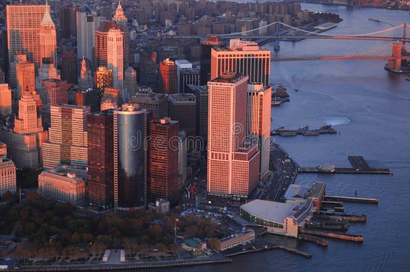 Manhattan del centro immagine stock