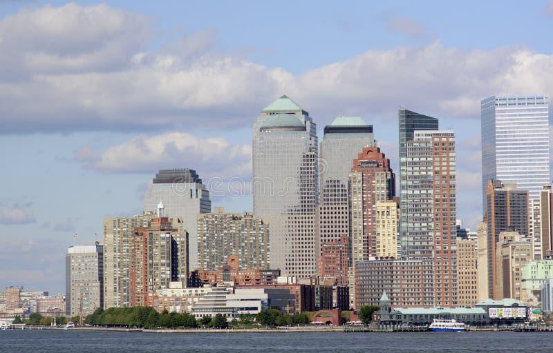 Manhattan del centro New York immagine stock