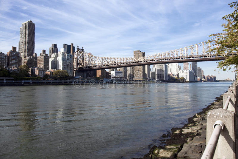 Download Manhattan East Side And Queensboro Bridge Stock Photo - Image: 12466836