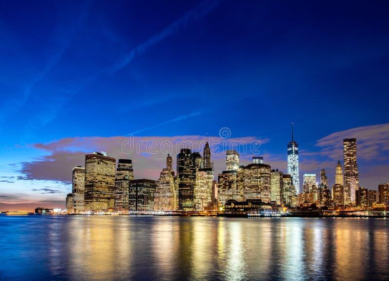 Download Manhattan En Nueva York, Los E.E.U.U. Foto de archivo - Imagen de manhattan, céntrico: 41916422