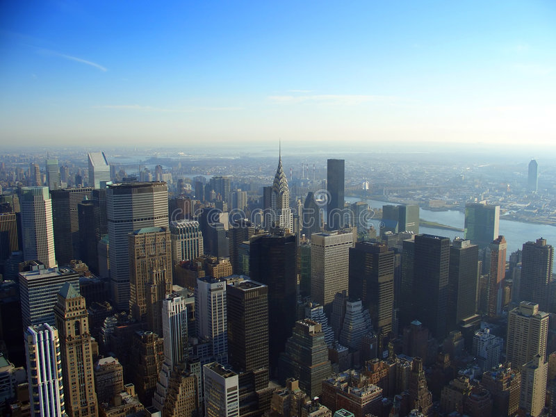 Manhattan est du nord, New York photos stock