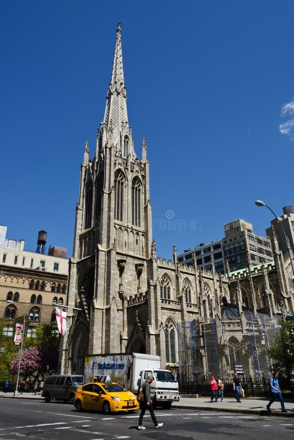 Manhattan Grace Church stock photo