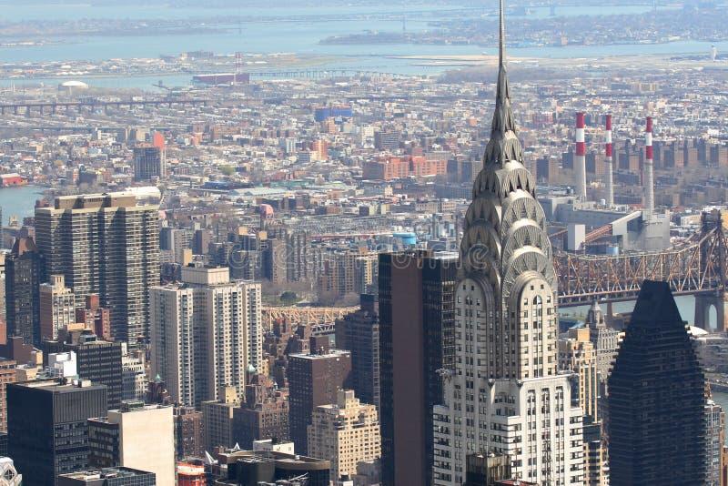 Manhattan Linia Horyzontu Bezpłatne Zdjęcie Stock