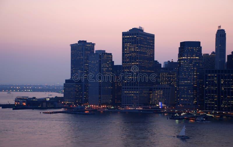 Manhattan, Long Island fotografia stock