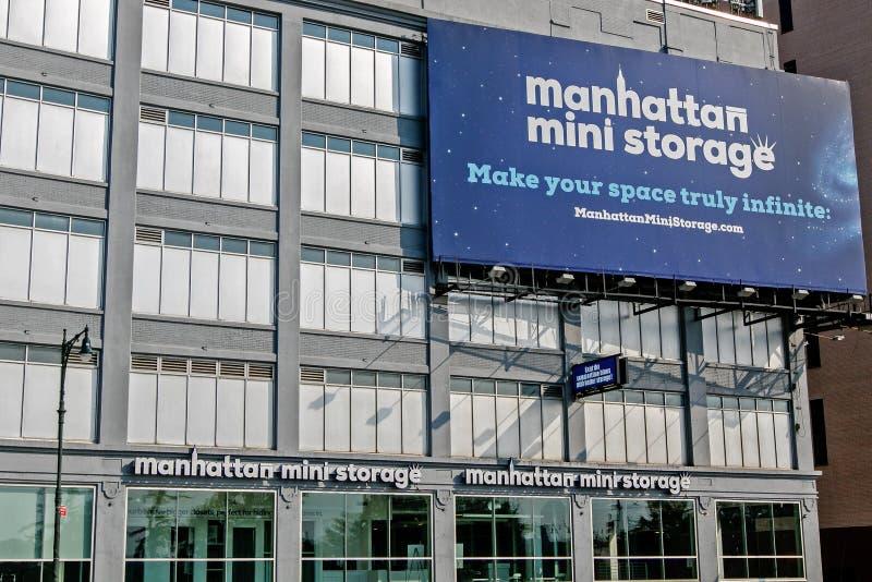 Manhattan Mini Storage royalty free stock image