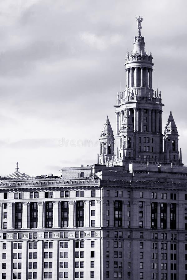 Manhattan Municipal Building Royalty Free Stock Photo