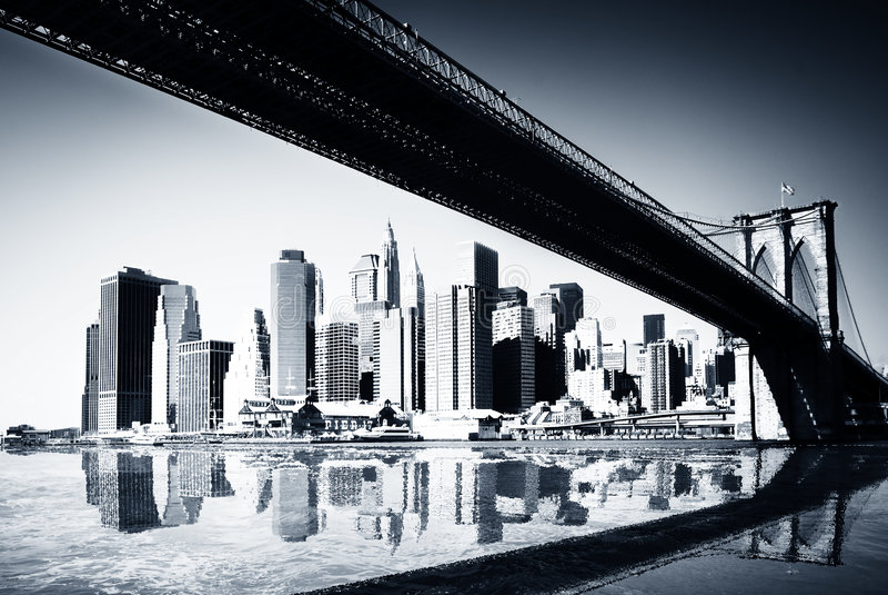 manhattan New York стоковое фото rf