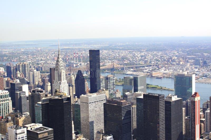 manhattan New York стоковая фотография rf