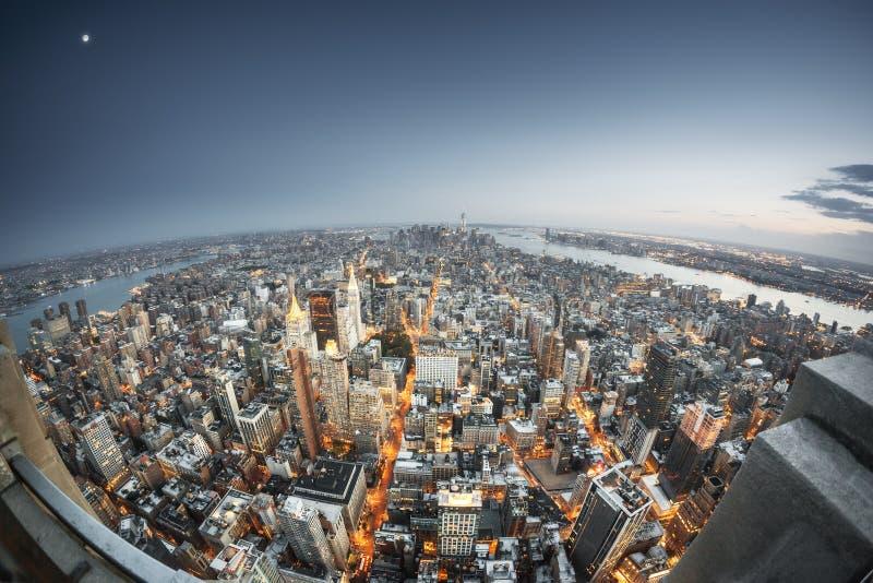 Manhattan New York photographie stock