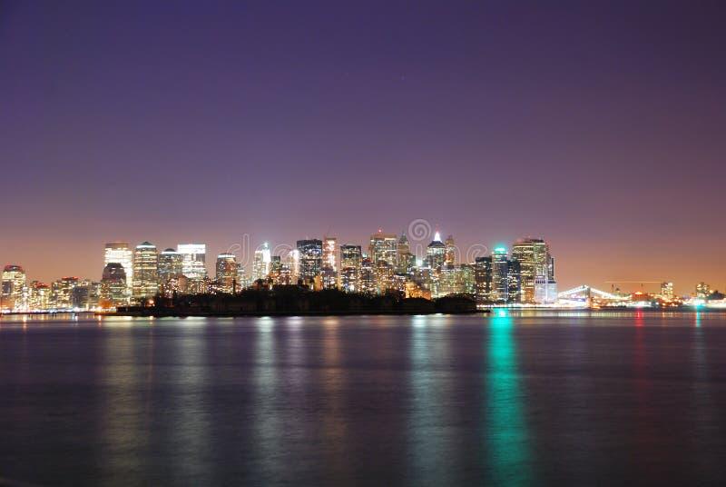 Download Manhattan, New York City stock image. Image of harbor - 12689535