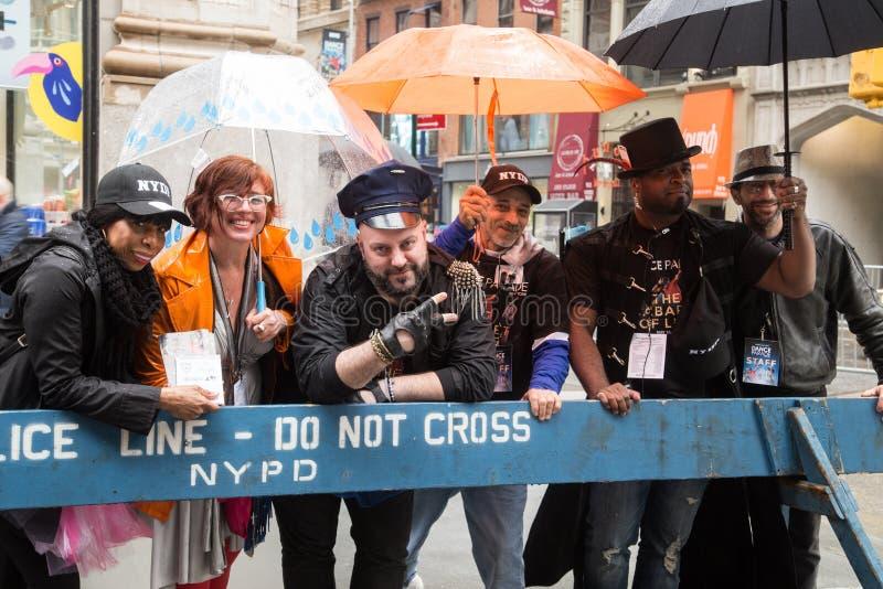 Manhattan, New York City, le 19 mai 2018 - défilé annuel de danse de New York photo libre de droits