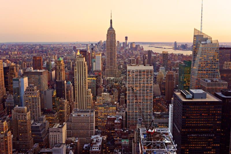 Manhattan, New York City. LES Etats-Unis. photographie stock