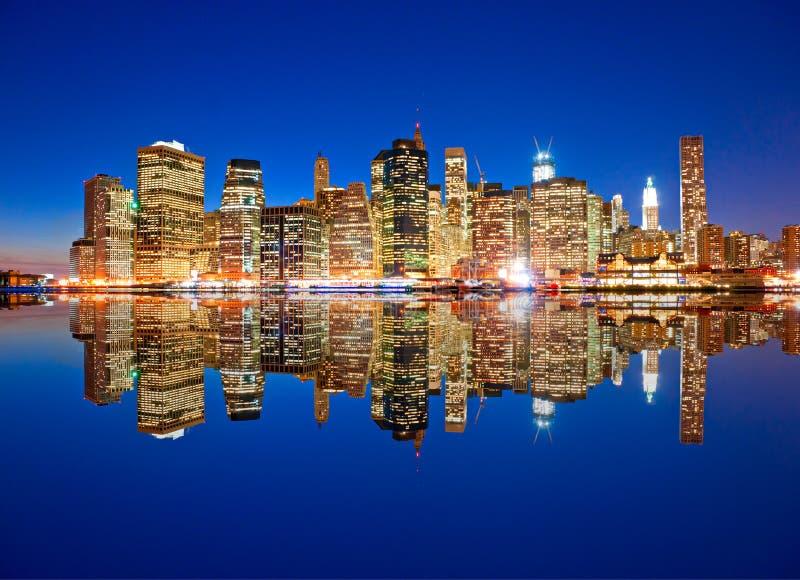 Manhattan, New York City. LOS E.E.U.U. foto de archivo libre de regalías