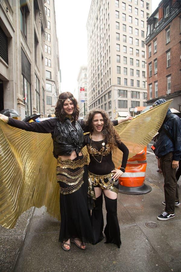 Manhattan New York City, Maj 19, 2018 - den årliga New York dansen ståtar fotografering för bildbyråer
