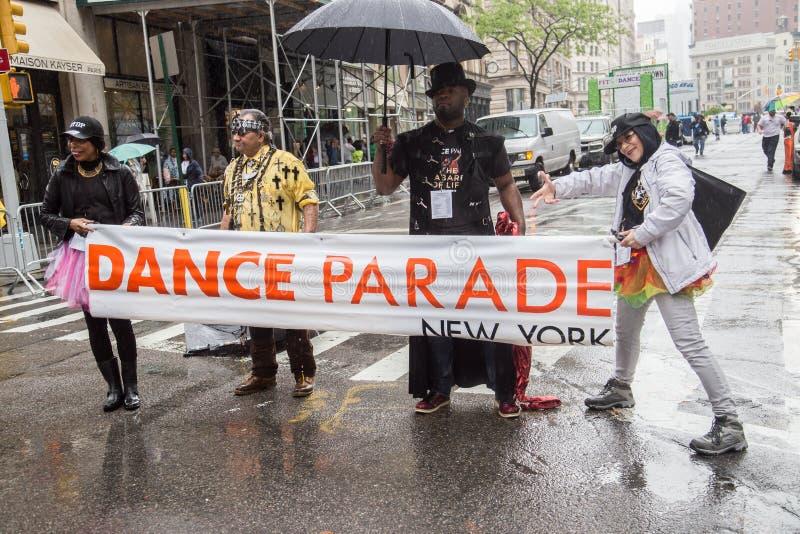 Manhattan New York City, Maj 19, 2018 - den årliga New York dansen ståtar arkivfoton