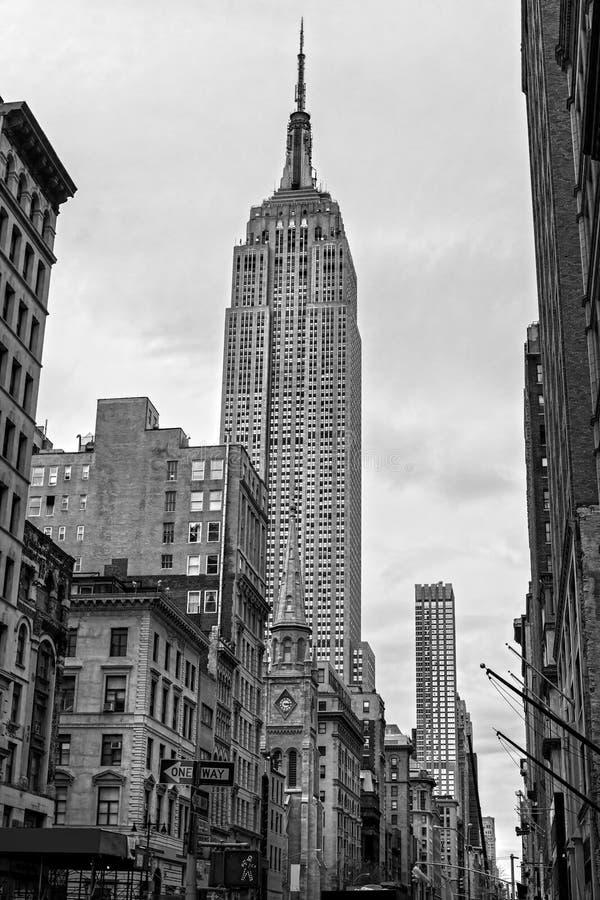 Manhattan, New York City. USA. lizenzfreies stockbild