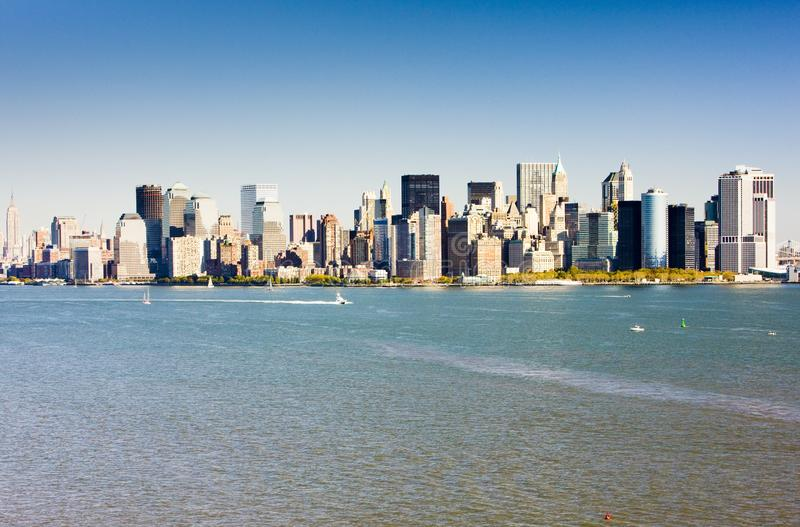 Manhattan New York City, USA royaltyfria bilder