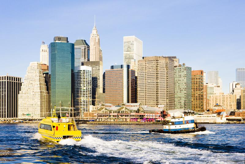 Manhattan New York City, USA royaltyfri bild