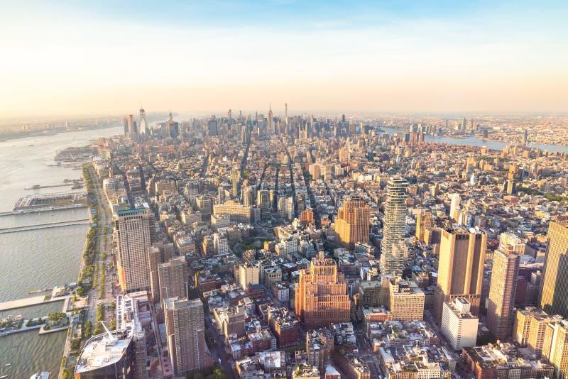 Manhattan New York stock afbeeldingen