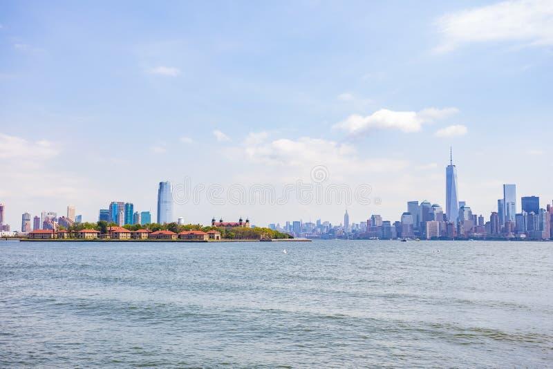 Manhattan New York Skyline zdjęcia stock