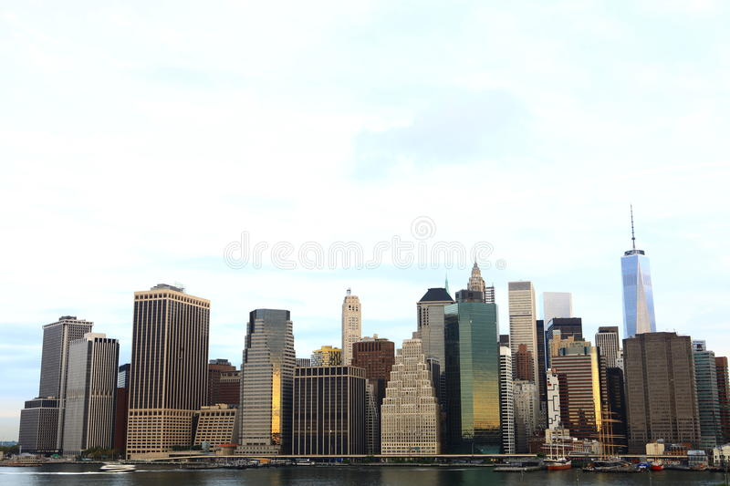 manhattan New York USA arkivbilder