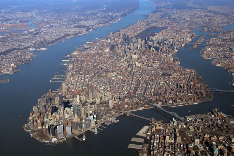 Manhattan, Nueva York imagen de archivo