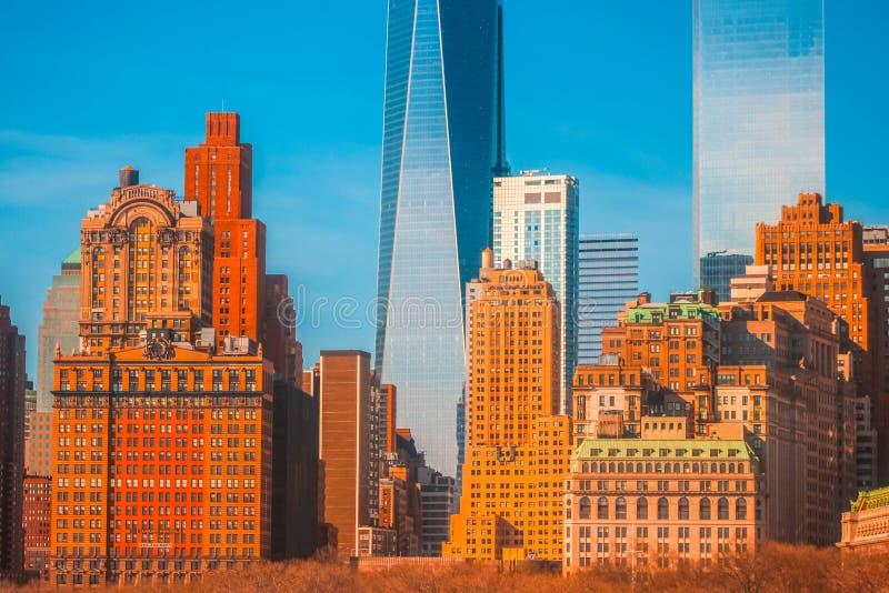Manhattan, NY obrazy stock