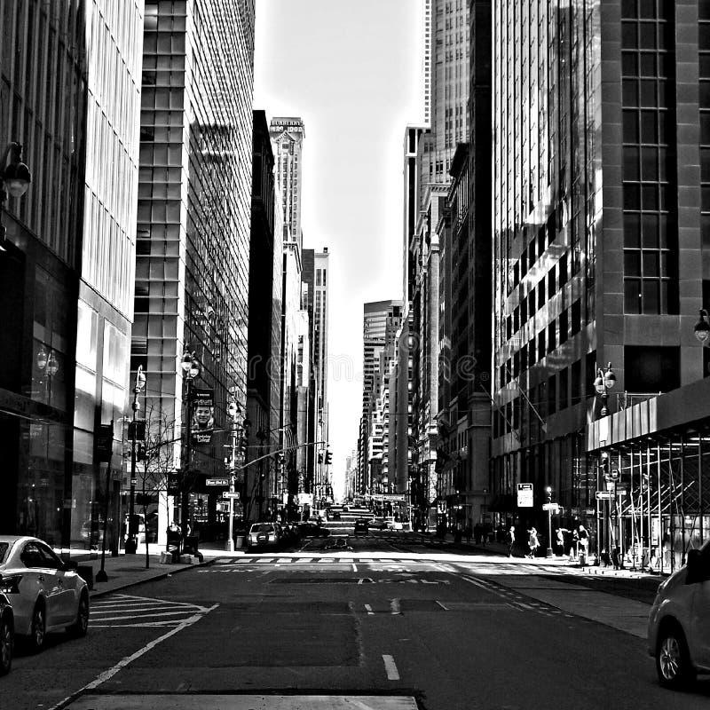 Manhattan nyc lizenzfreie stockfotos