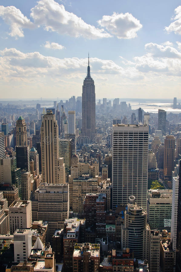 Download Manhattan-Panorama redaktionelles bild. Bild von york - 26352480