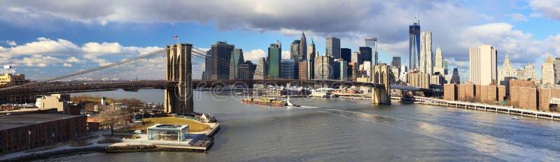 Download Manhattan panorama zdjęcie stock. Obraz złożonej z podróż - 28958926