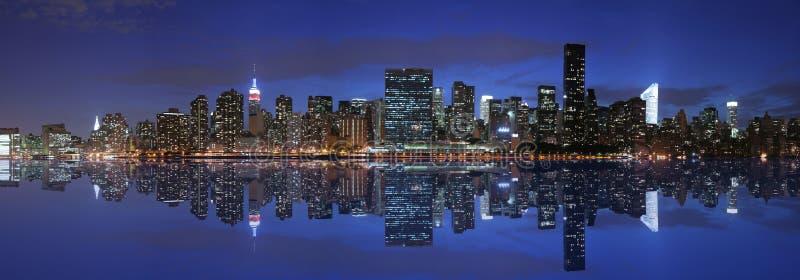 Manhattan Panoramic Royalty Free Stock Images