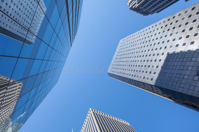 Manhattan skycraper, New York - USA royalty free stock photography