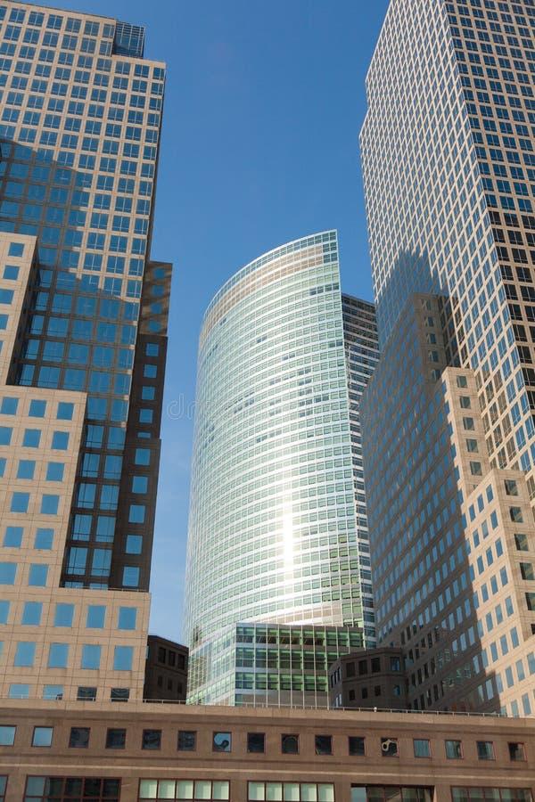 Manhattan skycrapers, New York royaltyfri fotografi