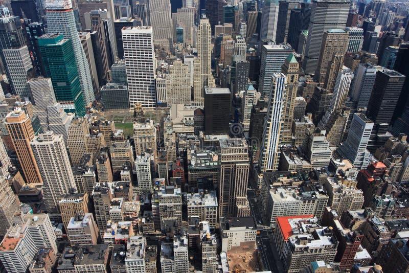 Manhattan-Skyline lizenzfreie stockfotografie