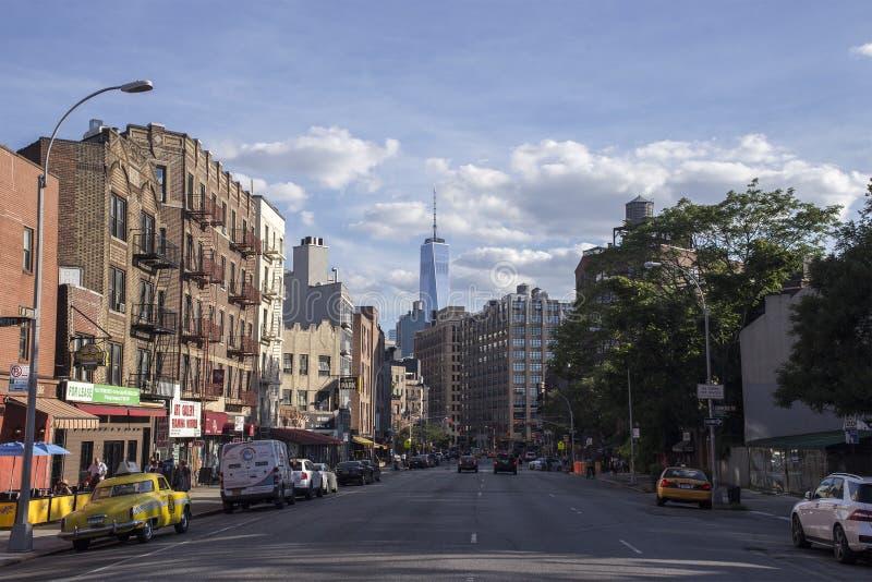 Manhattan Skyline, New York City royalty free stock images