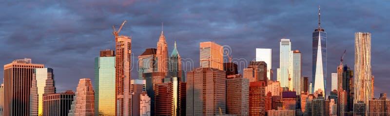 Manhattan skyline . New York City stock image