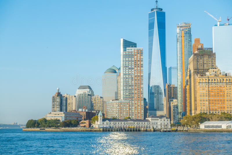 Manhattan skyline, New York City. USA . Manhattan skyline, New York City. USA stock photo